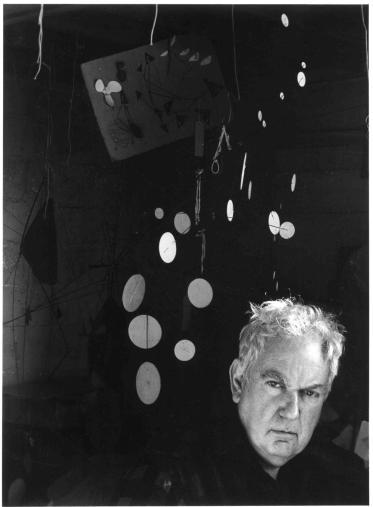 Alexander Calder © Arnold NEwman