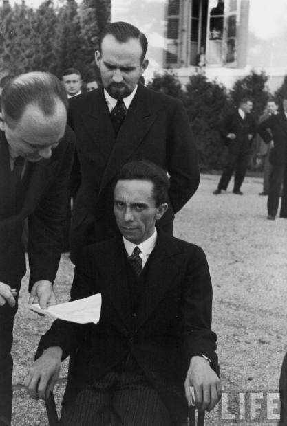 Nazi propaganda minister Joseph Goebbels, 1933. © Time-LIFE, Inc.