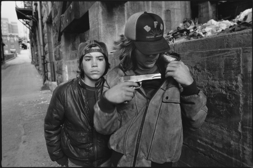 Street kids, Seattle. © Mary Ellen Mark.